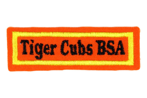 Tiger Cubs BSA Shirt Strip