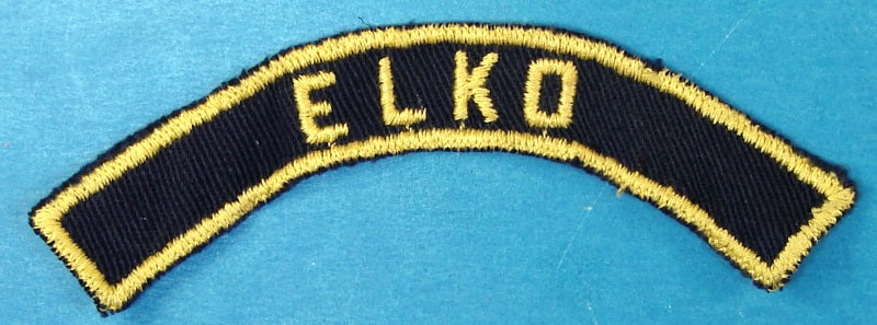 Elko Blue and Yellow City Strip
