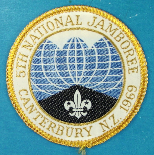 1969 New Zealand Jamboree Patch