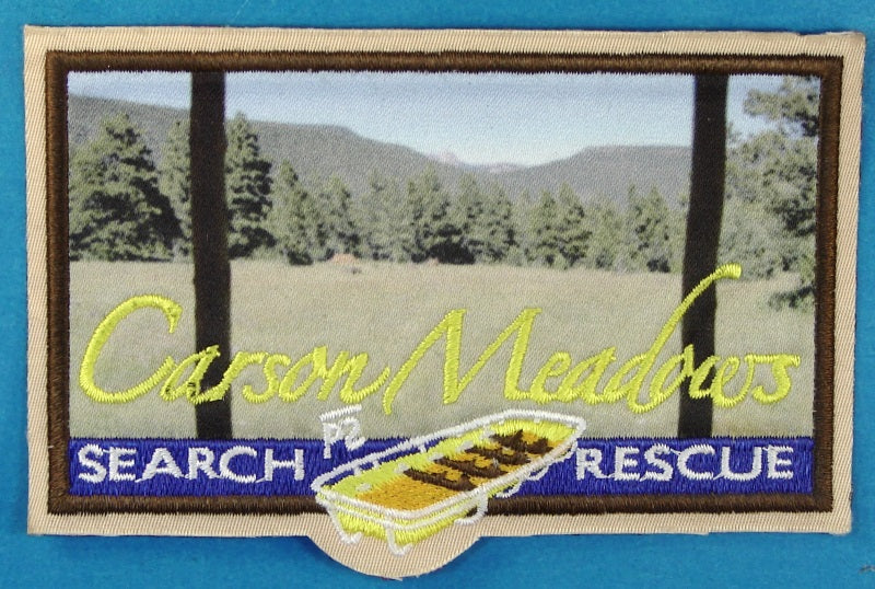 Philmont Carson Meadows Search and Rescue Patch