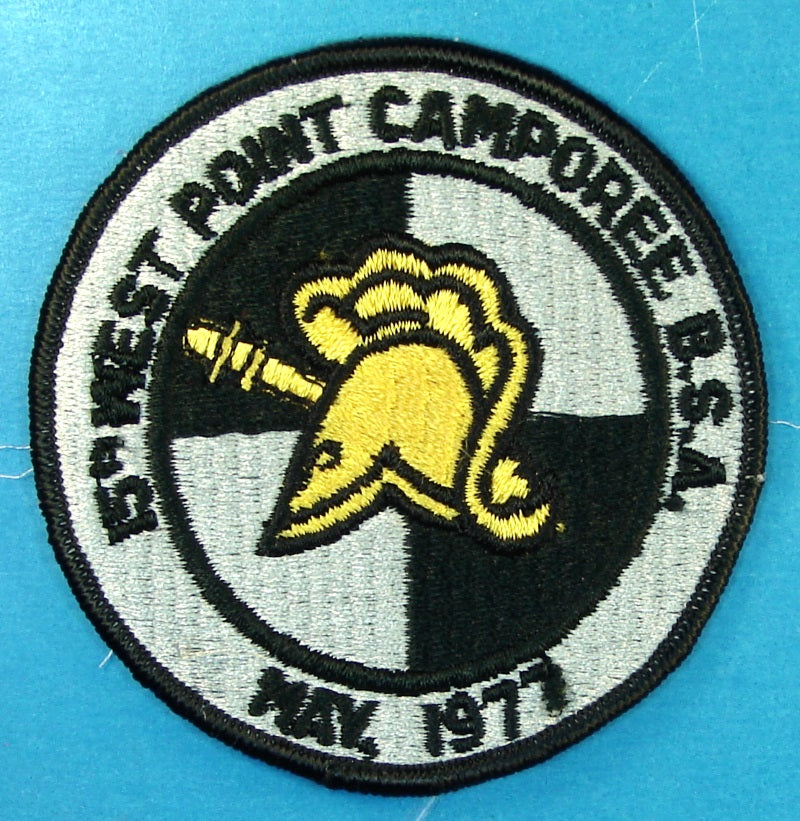 West Point Camporee 1977 Patch