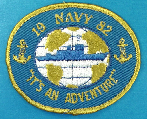 1982 Navy It's an Adventure Patch