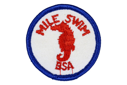 Mile Swim Patch