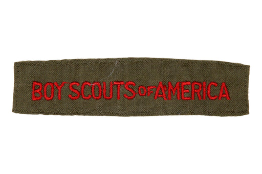 Boy Scouts of America Shirt Strip on Dacron