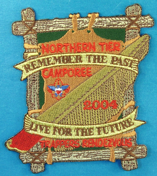 Northern Tier Trappers Rendezvous Patch 2004