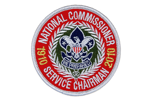 National Commissioner Service Chairman Patch 2010