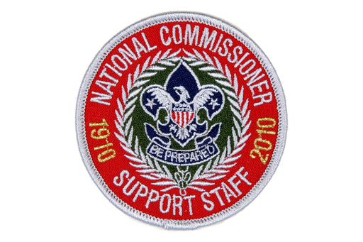 National Commissioner Support Staff Patch 2010
