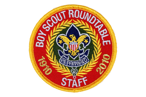 Boy Scout Roundtable Staff Patch 2010