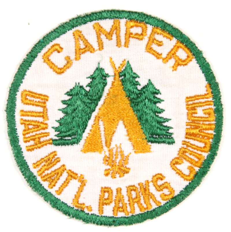 1946 Utah National Parks Camper Patch