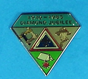 1985 Diamond Jubilee Pin