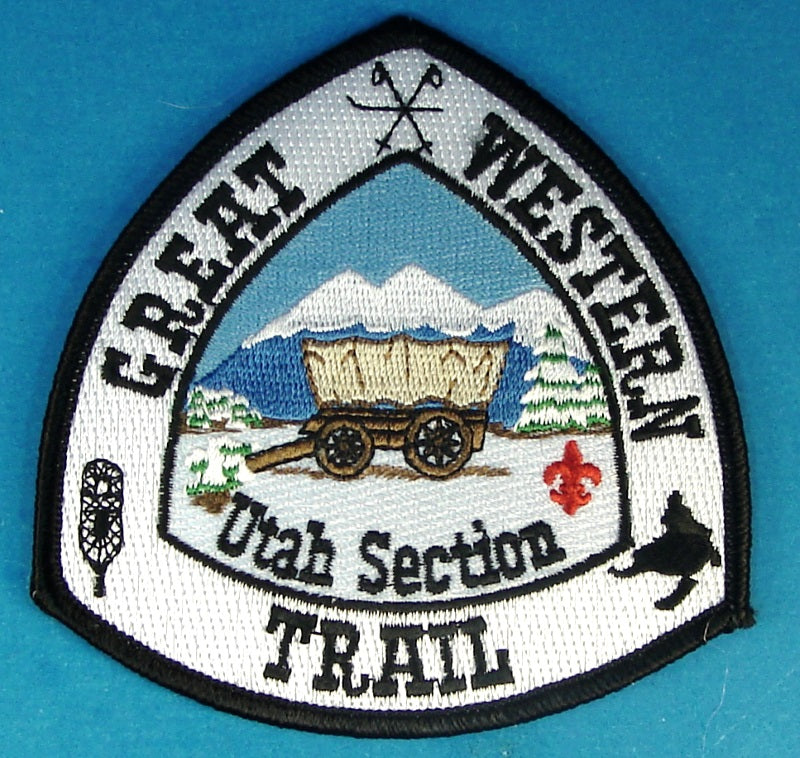 Great Western Trail Patch Winter