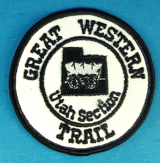 Great Western Trail Patch Forest Service Issued