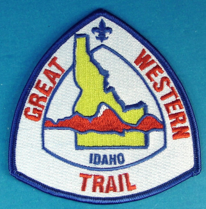 Great Western Trail Patch Idaho Section