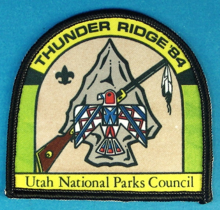 Thunder Ridge Camp Patch 1984