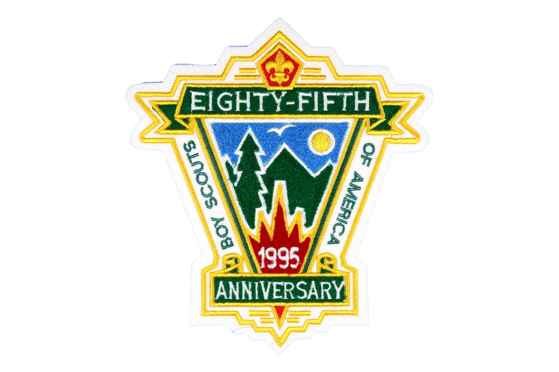 Eighty Fifth Anniversary Pocket Patch