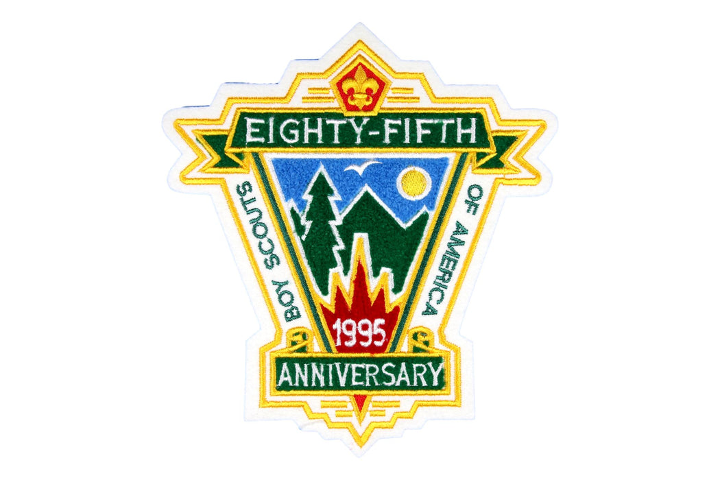 Eighty Fifth Anniversary Jacket Patch