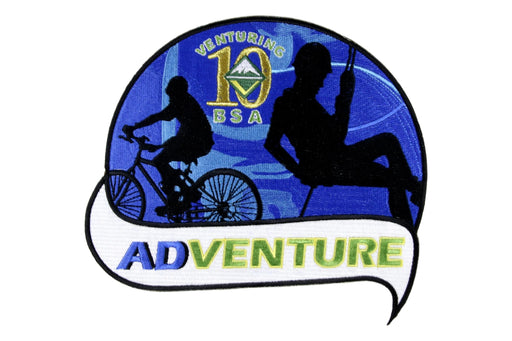 Venturing 10th Anniversary Adventure Jacket Patch