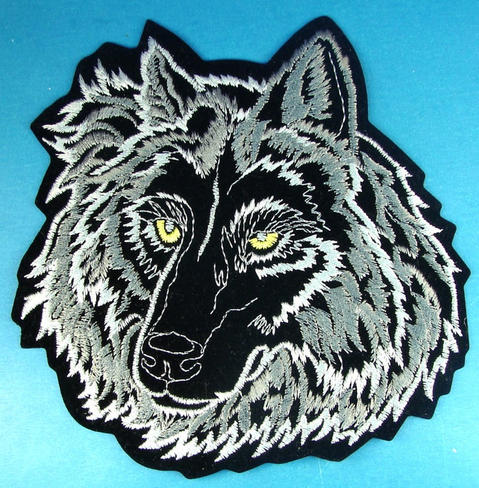 Canadian Wolf Jacket Patch
