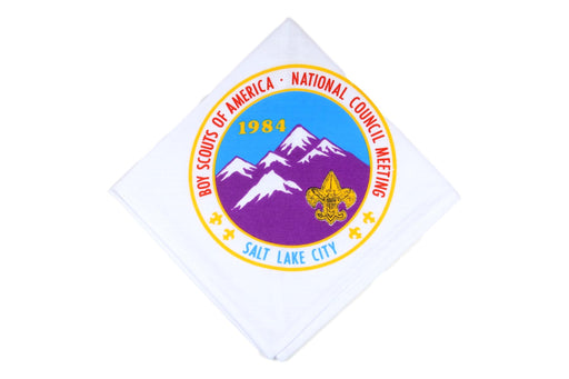 1984 National Council Meeting Neckerchief