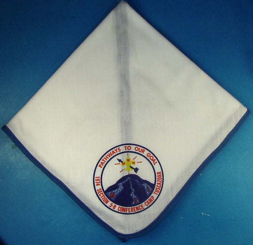 1974 Section 5B Conference Neckerchief