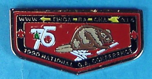 Lodge 514 Flap Pin 1990 NOAC