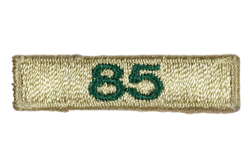 85 Year Unit Veteran Award