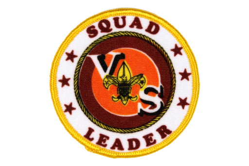 Squad Leader Patch Silk Screened
