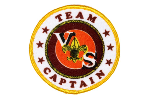 Team Captain Patch Silk Screened