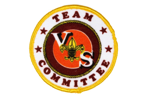Team Committee Patch Silk Screened