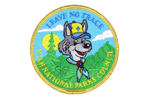 Leave No Trace Utah National Parks Cub Scout Patch