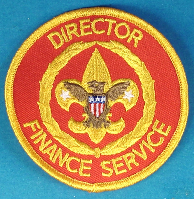 Director Finance Service Patch