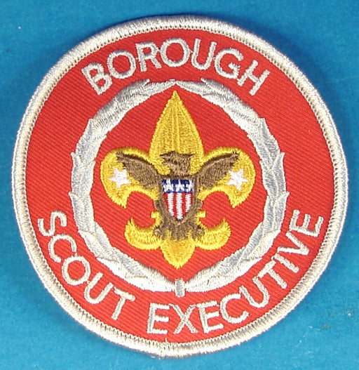 Borough Scout Executive Patch