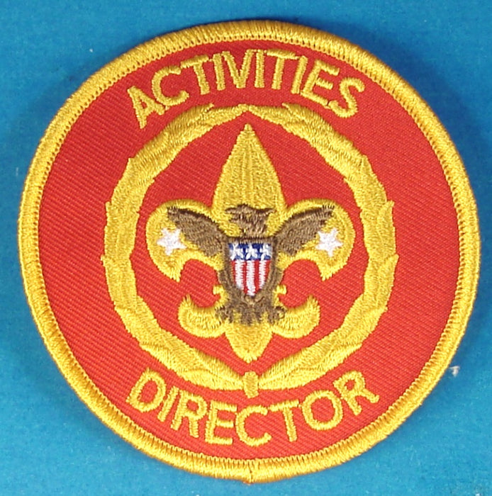 Activities Director Patch