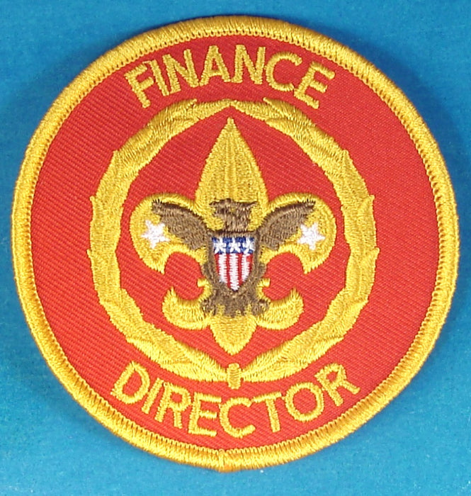Finance Director Patch