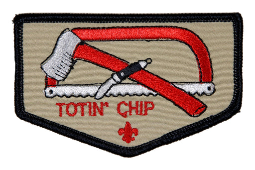 "Totin"" Chip Patch"