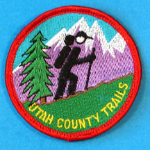Utah County Trails Patch