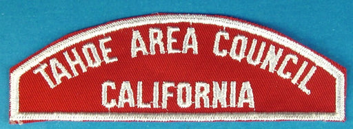 Tahoe Area Council Red and White Council Strip