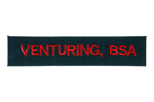 Venturing, BSA Shirt Strip Forest Green