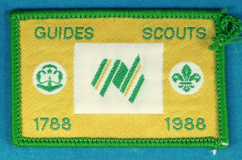 1988 Guides Scouts Patch
