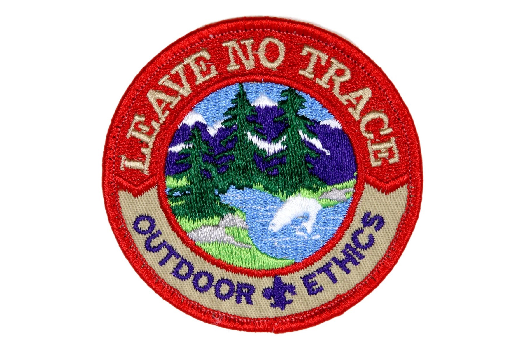 Leave No Trace Outdoor Ethics Patch