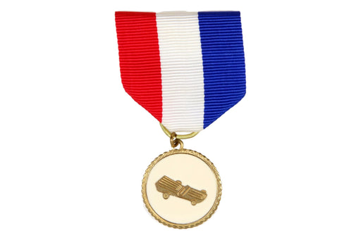 Cub Scout Pinewood Derby Medal White