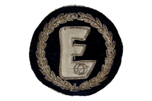 Explorer Bullion Jacket Pocket Patch Circle V