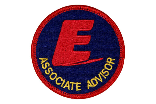 Associate Advisor Patch Exploring Blue Background