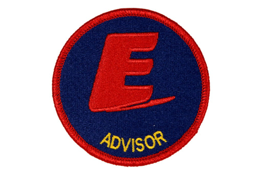 Advisor Patch Exploring Blue Background