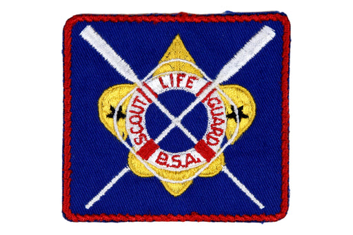 Scout Life Guard Patch 1950s