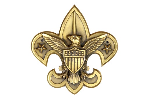 "Boy Scout Logo for a Plaque 3"" X 3"""