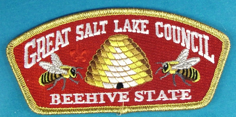 Great Salt Lake CSP SA-New 2017 Scout O Rama Gold Mylar