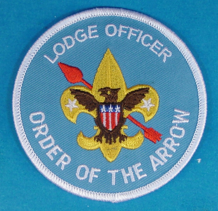 Lodge Officer Patch