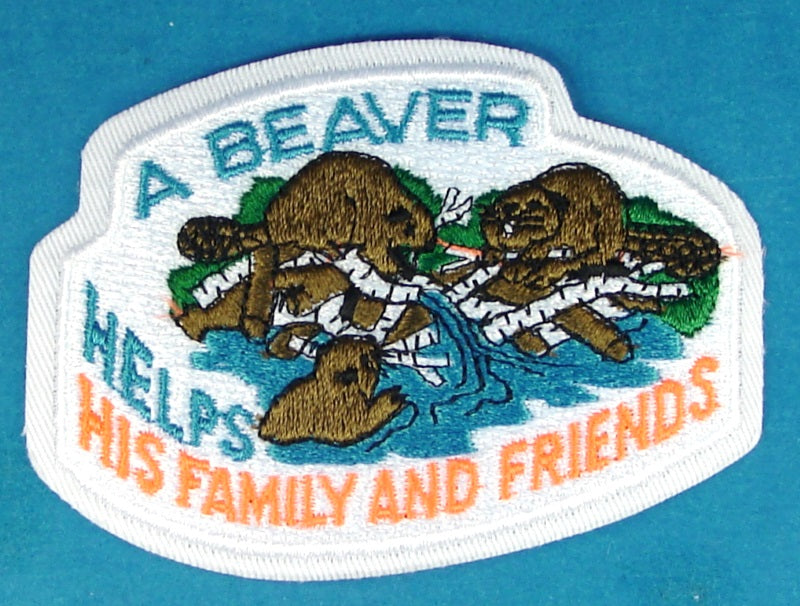 Beaver Canadian Patch