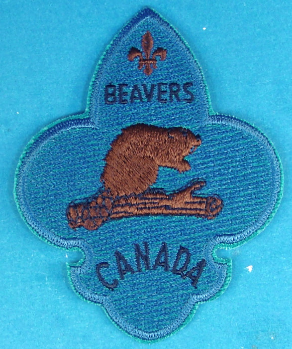 Beavers Canada Patch